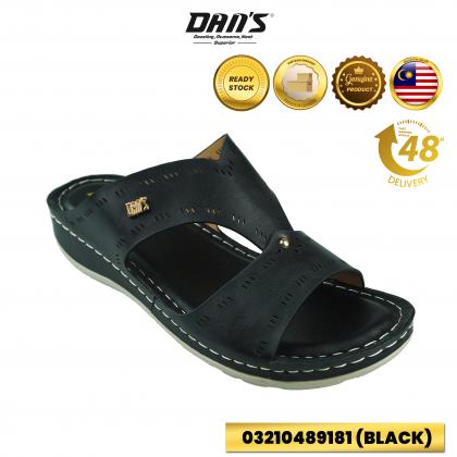DANS Ladies Comfort Shoes - Black/Maroon  03210489181 (O1,2,3)