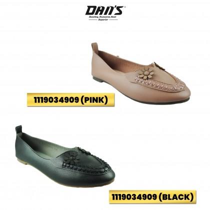 DANS Ladies Flats Shoes - Black/Pink 1119034909 (A5)